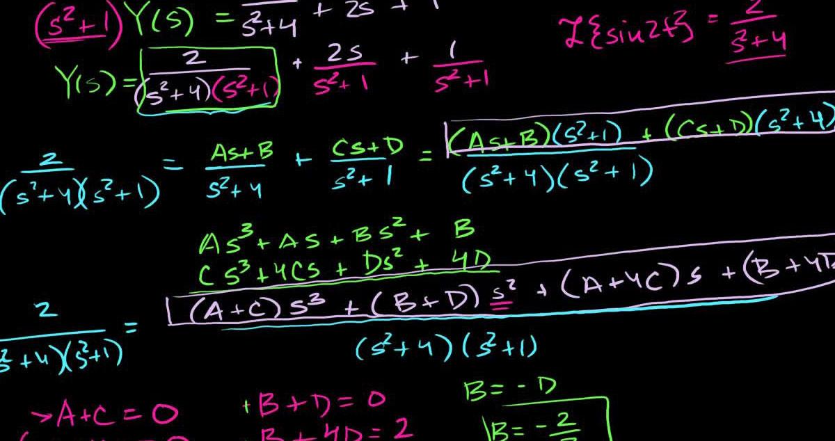 درس معادلات دیفرانسیل - کلیه رشته های فنی مهندسی